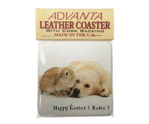 Personalised Easter Goldie+Rabbit, AD-GR52PEA