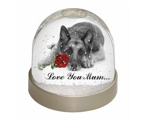 German Shepherd (B+W) Love You Mum, AD-GS1R2lym