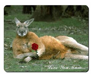 Kangaroo with Rose