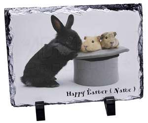 Personalised Easter Rabbit+Guineas, AR-10PEA