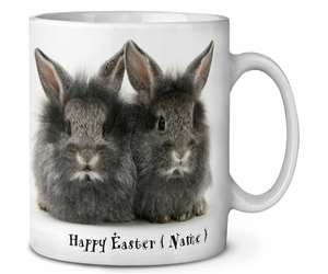 Personalised Easter Angora Rabbits, AR-3PEA