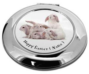 Personalised White Easter Rabbits, AR-5PEA