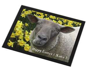 Personalised Easter Sheep+Daffodils, ASH-3PDA
