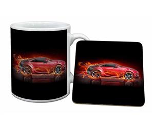 Red Fire Flame Sports CAR-1