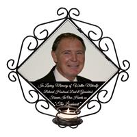 Personalised Photo+Wording Candle Holder Keepsake Memorial-9