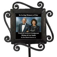 Personalized to Request Grave Photo Memory Stake Memorial-8