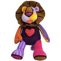 Britto Pop Plush Lion Leonardo Childrens Christmas Toy Presents 4024918