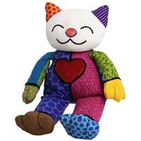 Britto Pop Plush Cat Coco Childrens Soft Toy Christmas Present 4024915