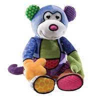 Britto Pop Plush Matisse Monkey Childrens Christmas Soft Plush Toy Gift 4024913