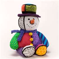 Gund Large Light Up Musical Snowman Plays