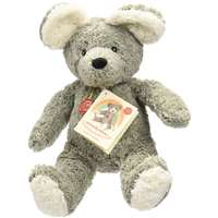 Teddy Hermann Natural Friendly Eco Cotton Baby Mouse Bear 108016