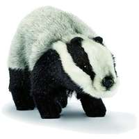 Hansa Realistic Badger Childrens Soft Toy Life-Like Animals 3483
