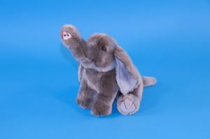 Cute Soft Touch, Fluffy Elephant Childrens Plush Christmas Gift
