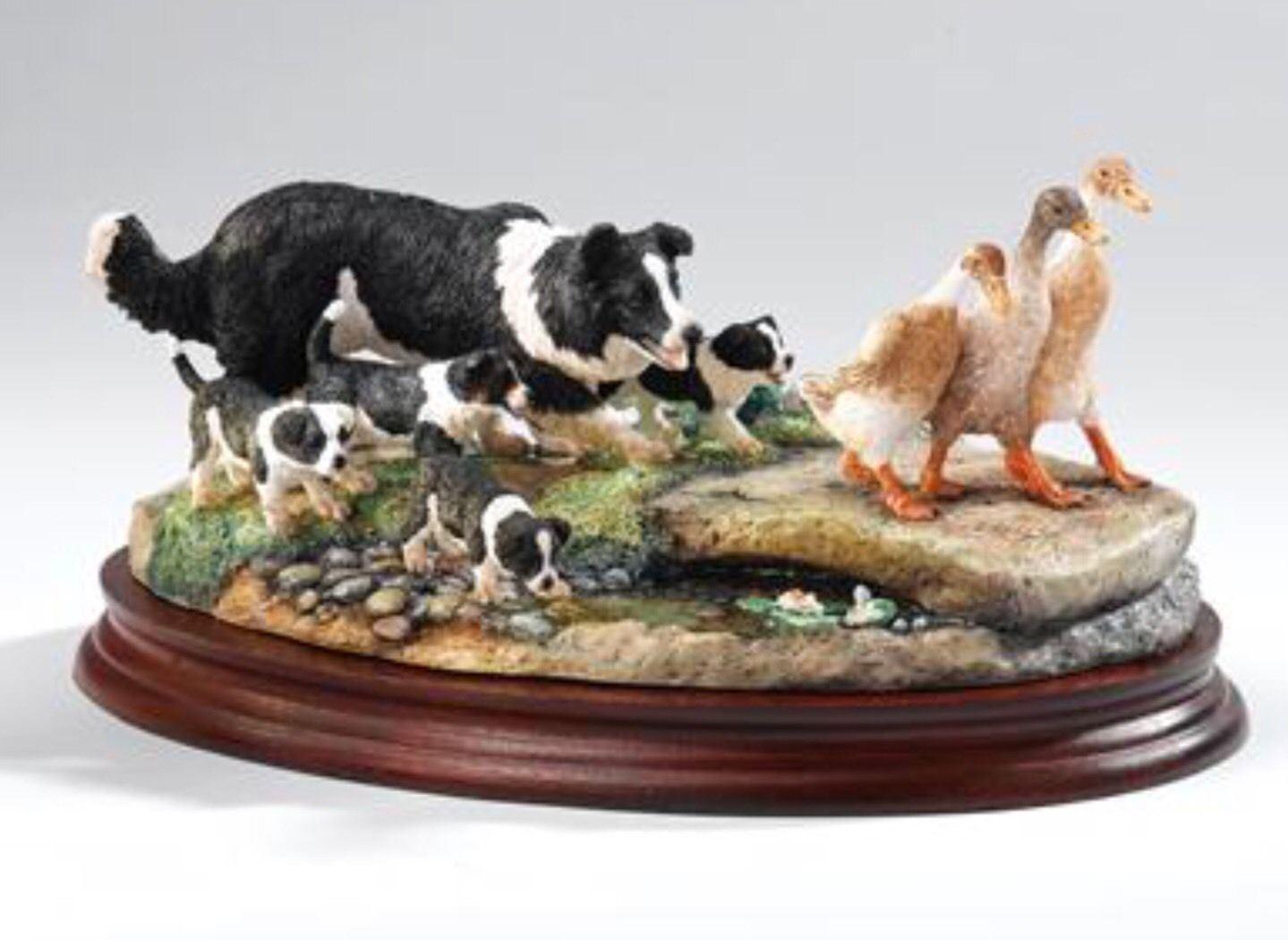 Border Fine Arts Keep On Running Ltd Edition Collie Dogs