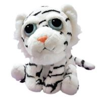 "Lil Peepers 9""Tiiah White Tiger Soft Plush Childrens Toddlers Toy"