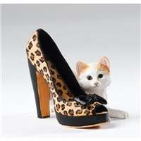 Kitten Heels Bella+High Heel Animal Print Shoe Girly Christmas Gift