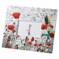 Ge Feng Poppies Photo Frame Red Poppy Trendy Girly Christmas Gift