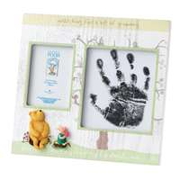 Winnie the Pooh Baby Photo & Hand Impression Frame Christmas Gift