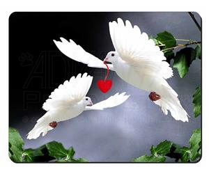 Two White Doves+ Red Heart, AB-D6