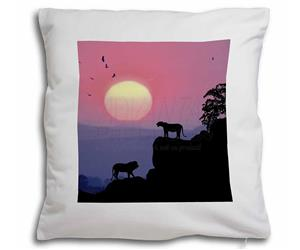 Click Image to See All 38 Different Products with this Lions Silhouette Printed Onto