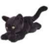 Shadow Black Short Hair Plush Cat Lucky Mascot 80689