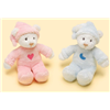 Babies Squeak Bear (Pink or Blue) Small Baby Teddy Gift 85434