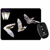 Bats by Lantern Night Light Computer Mouse Mat Christmas Gift Idea