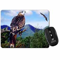 Red Kite Bird of Prey Computer Mouse Mat Birthday Gift Idea
