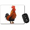Morning Call Cockerel Computer Mouse Mat Christmas Gift Idea