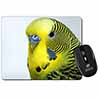 Yellow Budgerigar, Budgie Computer Mouse Mat Christmas Gift Idea