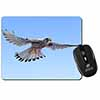 Flying Kestrel Bird of Prey Computer Mouse Mat Christmas Gift Idea