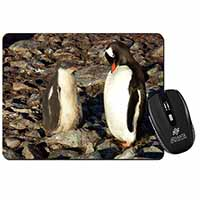 Penguins on Pebbles Computer Mouse Mat Christmas Gift Idea