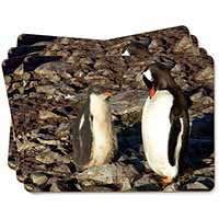 Penguins on Pebbles Picture Placemats in Gift Box