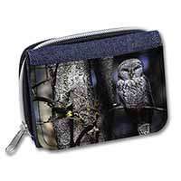 Stunning Owl in Tree Girls/Ladies Denim Purse Wallet Christmas Gift Idea