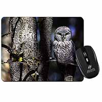 Stunning Owl in Tree Computer Mouse Mat Christmas Gift Idea