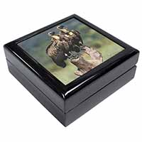Vultures on Watch Keepsake/Jewellery Box Birthday Gift Idea