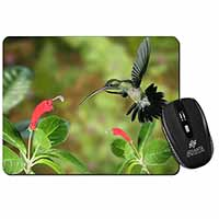 Green Hermit Humming Bird Computer Mouse Mat Birthday Gift Idea