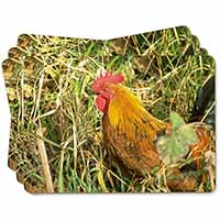 Hen in Straw Picture Placemats in Gift Box