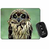 Cute Tawny Owl Computer Mouse Mat Birthday Gift Idea