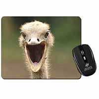 Ostritch Photo Print Computer Mouse Mat Birthday Gift Idea