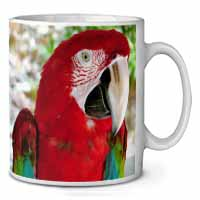 Green Winged Red Macaw Parrot Coffee/Tea Mug Gift Idea