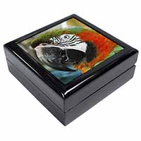 Face of a Macaw Parrot Keepsake/Jewellery Box Birthday Gift Idea