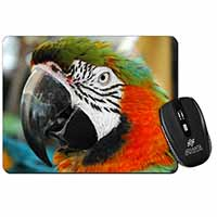 Face of a Macaw Parrot Computer Mouse Mat Birthday Gift Idea