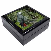African Grey Parrot Keepsake/Jewel Box Birthday Gift Idea
