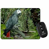 African Grey Parrot Computer Mouse Mat Birthday Gift Idea