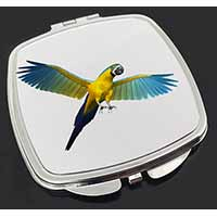 In-Flight Flying Parrot Make-Up Compact Mirror Birthday Gift Idea