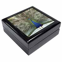 Rainbow Feathers Peacock Keepsake/Jewellery Box Birthday Gift Idea