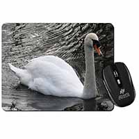 Beautiful Swan Computer Mouse Mat Birthday Gift Idea