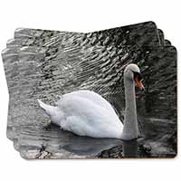 Beautiful Swan Picture Placemats in Gift Box