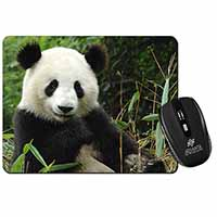 Beautiful Panda Bear Computer Mouse Mat Birthday Gift Idea